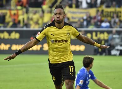 Aubameyang signed for Dortmund from St Etienne in 2013.