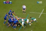 Analysis: Ireland played rope-a-dope with the French scrum on Sunday