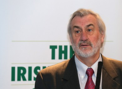 Kieran Mulvey is Chairman of the Irish Sports Council.