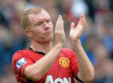 Paul Scholes has some harsh words for Manchester United.