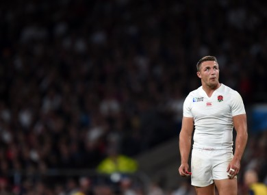 Burgess was made a scapegoat for England's World Cup failures.
