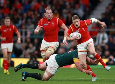 Priestland featured in all of Wales' games in the World Cup.