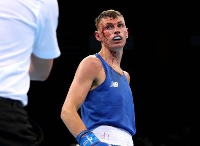 Seán McComb secured victory today.