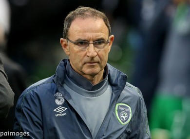 Martin O'Neill has emphasised the importance of having the second leg at the Aviva Stadium.