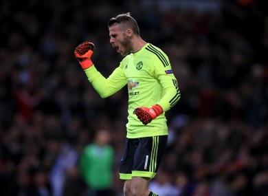 De Gea has since returned to the Man United team and signed a new long-term contract.