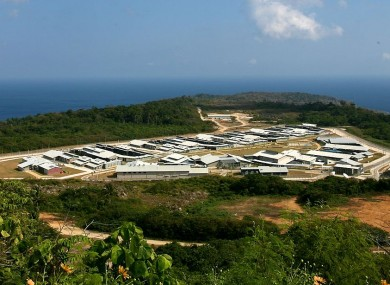 The Christmas Island detention centre