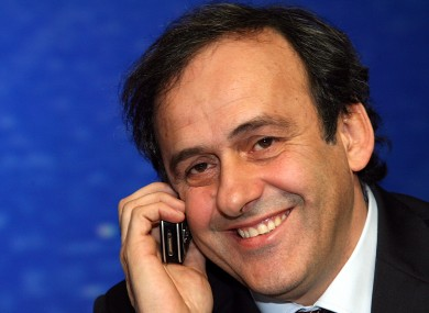 Uefa president Michel Platini was one of the main men behind the 24-team idea.