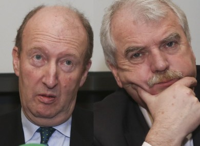 Shane Ross and Finian McGrath are leading members of the Independent Alliance