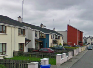 File photo of Tailteann Road, where the attack took place.