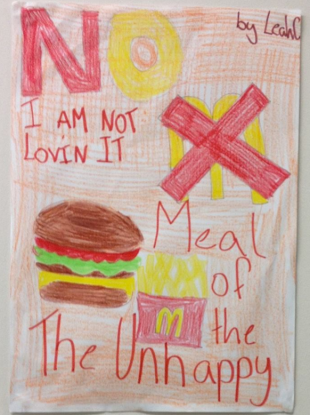 Drawing by a student at the Greystones Educate Together NS.