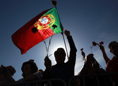 Portuguese May Day protests chant slogans against austerity measures