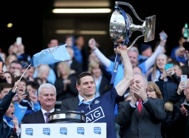 Stephen Cluxton and Dublin are going for four League titles in a row.