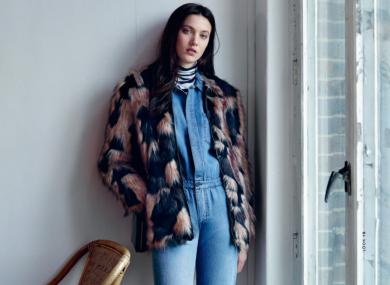 A model from Zalando's latest 'Look Book'