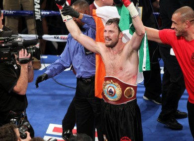 Andy Lee will be back on TV screens worldwide when he fights later this month