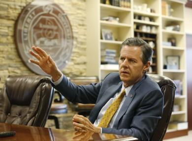 Liberty University president, Jerry Falwell Jr.