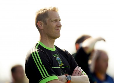 Geraghty: All-Ireland winning skipper has ambitions to be boss one day.