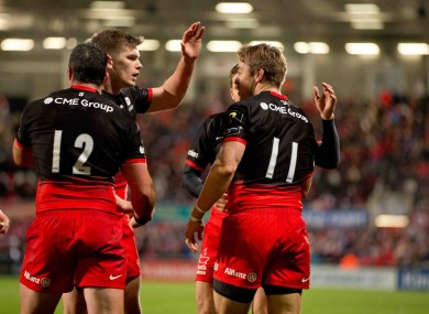File photo: Saracens have already recorded big wins over Toulouse and Ulster.
