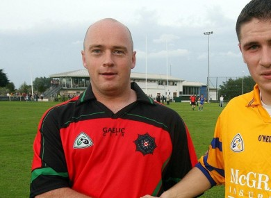 Peadar Heffron pictured here on the left