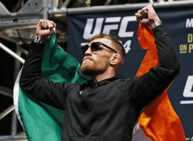 McGregor is one of the UFC's biggest stars.