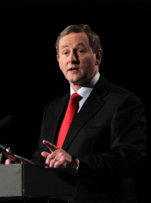 Kenny at the Ard Fheis