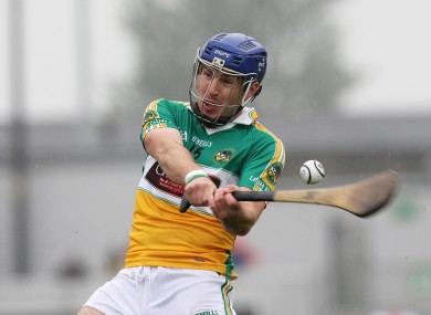 Offaly hurler Brian Carroll retired this week.