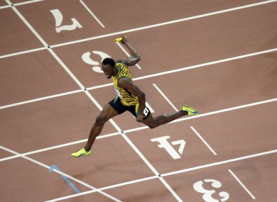 Bolt's glittering CV already includes six Olympic golds (file photo).