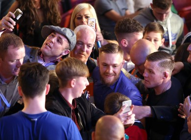 You may not get this close to McGregor at UFC 197, but you can try.