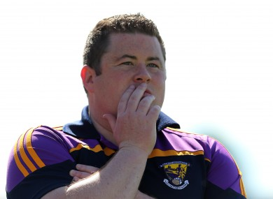 Wexford manager David Power.