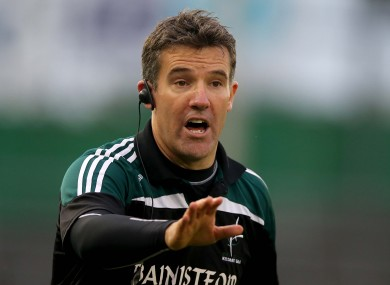 Ryan stepped down from his role with Kildare in August.
