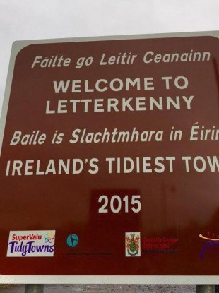 Letterkenny was given the award in November last year