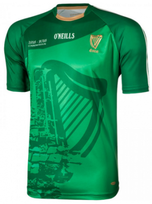 The new jersey to mark the 100th anniversary of the Easter Rising.