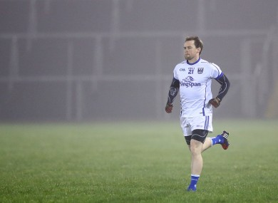 Seanie Johnston was back in action for Cavan last night.