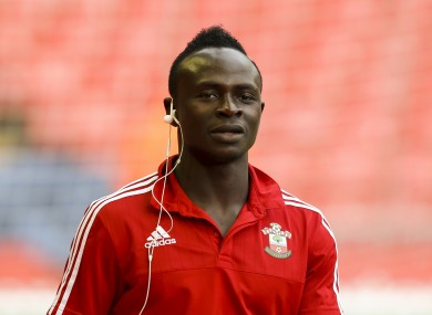 Sadio Mane has caught the eye for Southampton this season.