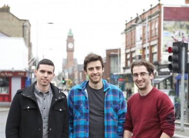 Soundwave founders Craig Watson, Brendan O'Driscoll and Aidan Sliney.