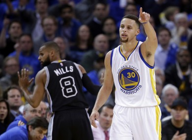 Steph Curry showed just why he's the best player in the NBA last night.
