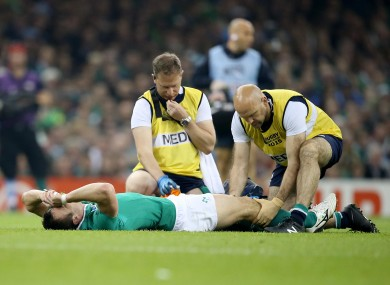 Bowe was stretchered off against Argentina with a serious knee injury.