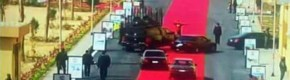 Egyptian president sparks outrage by laying out giant red carpet for his motorcade to drive on