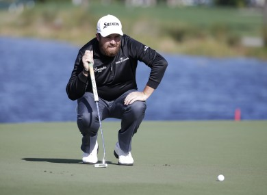 Shane Lowry has been in excellent form.