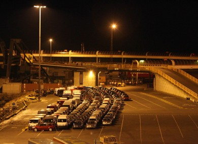 File photo: Rosslare port