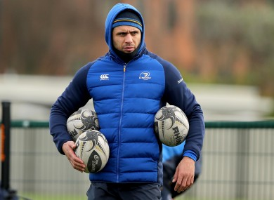 Nacewa wants to stay at the RDS for another year.