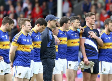 Tipperary bowed out of last year's All-Ireland senior football championship against Tyrone.