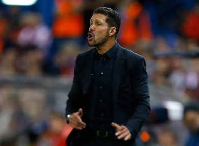 Could we be seeing Simeone in the Premier League next season?