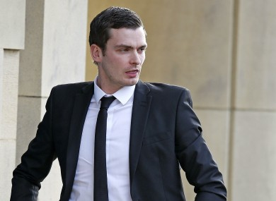 Footballer Adam Johnson has been accused of sexual activity with a child.