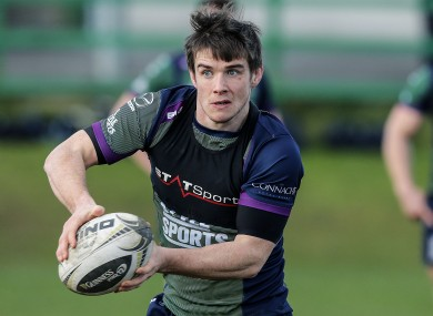 MacGinty joined Connacht in October after impressing with USA at the World Cup.