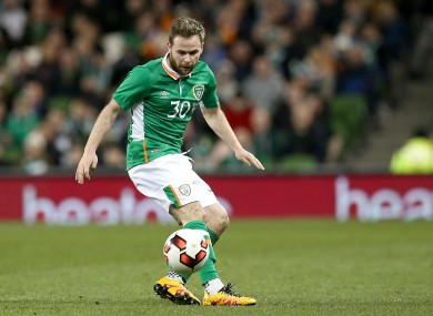 Alan Judge will be hoping to get another chance to impress Martin O'Neill.