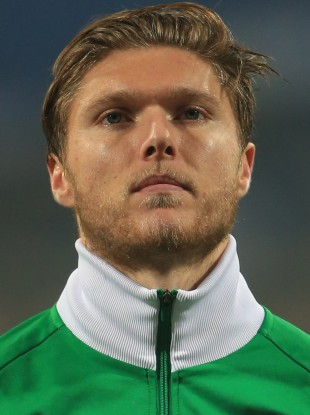 Hendrick plays regularly for the Irish national team.