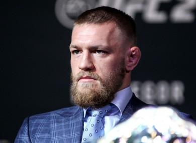 McGregor: 'Honoured' to be put in same bracket as Ali.