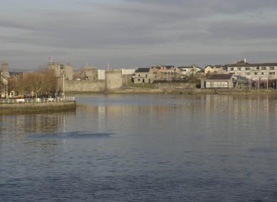 The Shannon in Limerick