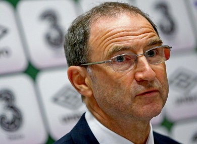 Ireland boss O'Neill.