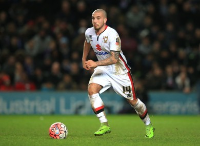 Carruthers plays for League One side MK Dons.